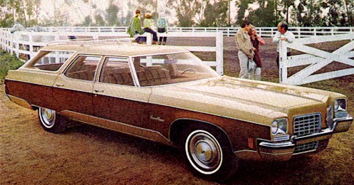 1972 Olds Custom Cruiser