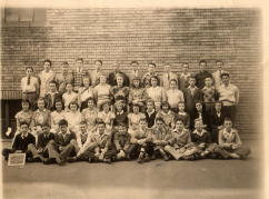 Eighth Grade St Mary Grammar School 1948