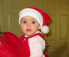 Graciela's first Christmas