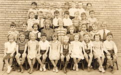 First Grade St Mary Grammar School 1941