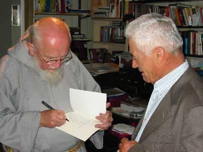 Father Groeschel with Georges Hanna