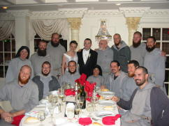 Friars and Sisters at Wedding of Brother TM's Daughter