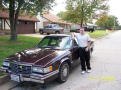 Justin Hunter King with 1993 Cadillac DeVille