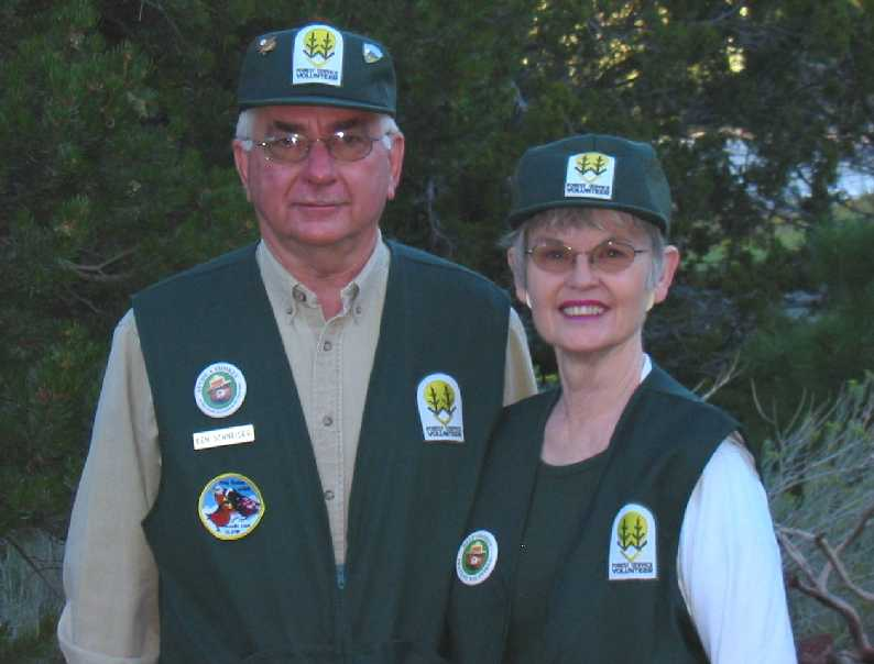 US Forest Service Volunteers