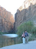 Santa Elena Canyon, Big Bend, TX DEC2003