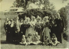 Phil and Grace Schneider Wedding 1934