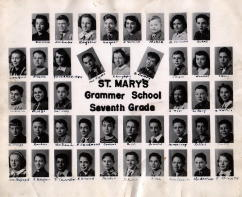 Seventh Grade St. Mary Grammar School 1947