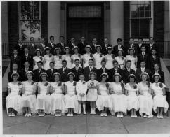 St Mary Grammar School Graduation 1949