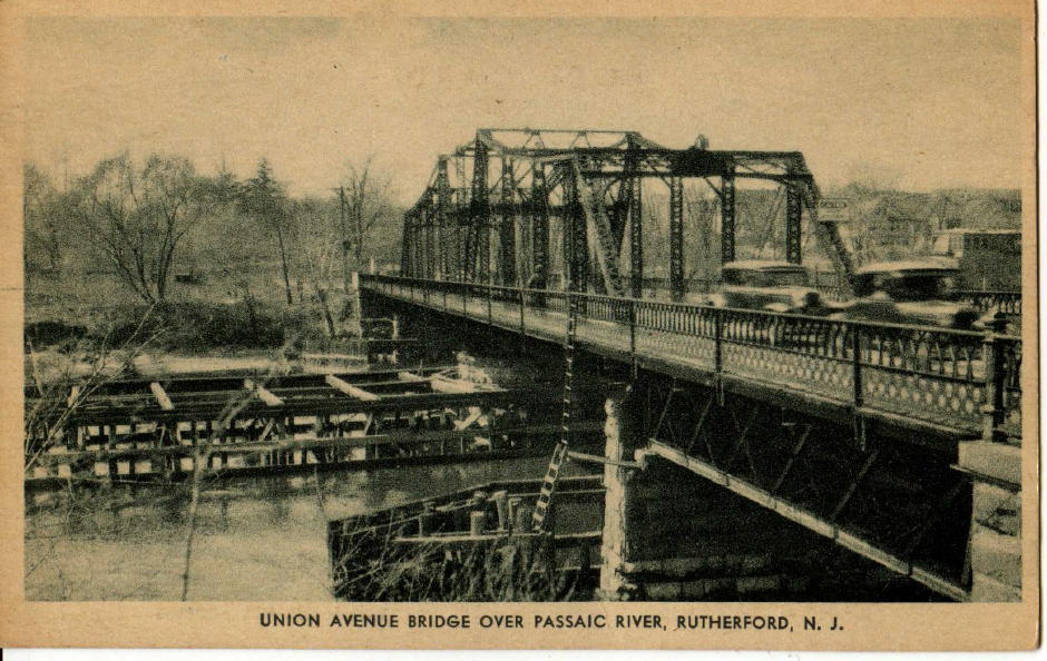 Union Avenue Bride over Passaic River